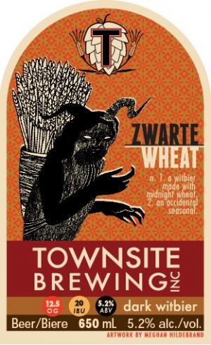 Zwarte Wheat - Townsite Brewing