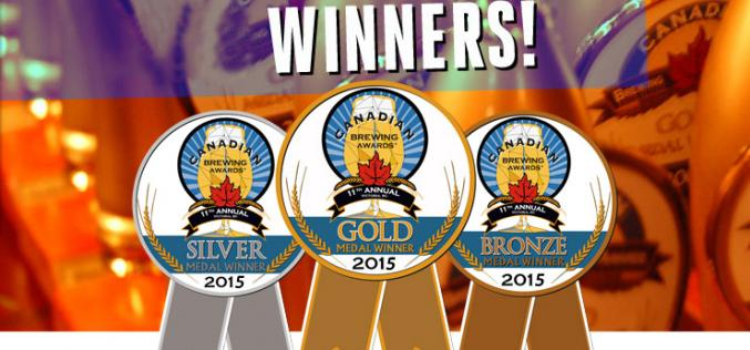 BC Breweries Clean Up as Winners at 2015 Canadian Brewing Awards