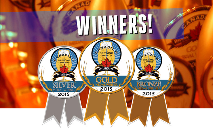 2015 Canadian Brewing Awards