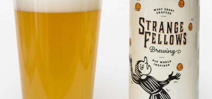 Strange Fellows Brewing Co. – Jongleur Belgian Wit Beer