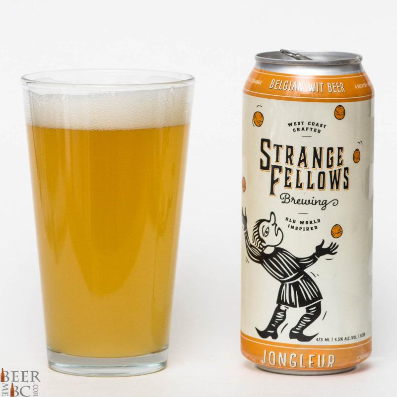 Strange Fellows Brewing Co. - Jongleur Belgian Wit Beer Review