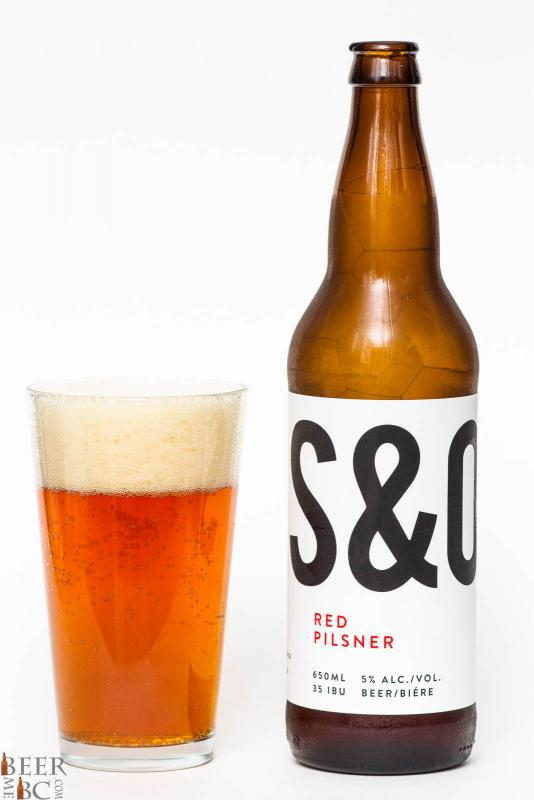 Steel & Oak Red Pilsner Review