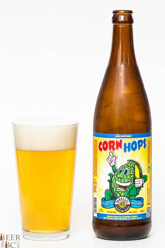 Parallel 49 Brewing Corn Hops IPA Review