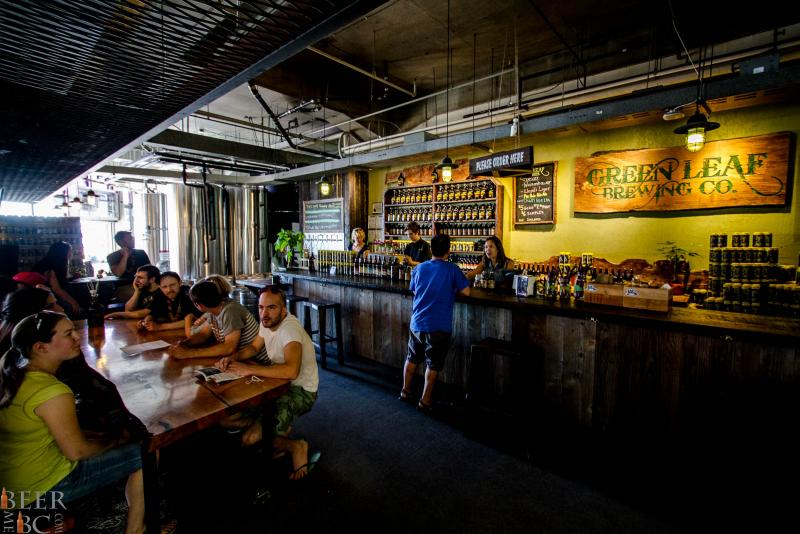 Burnaby Tours - Green Leaf Brewery