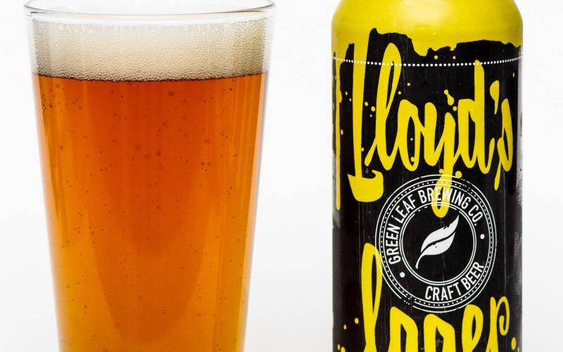 Green leaf Brewing Co. – Lloyd's Lager
