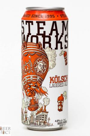 Steamworks Brewing Co. - Kolsch Lagered Ale Review