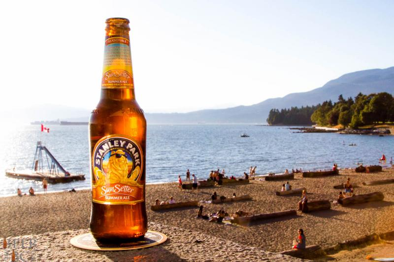 Stanley Park Brewery Sunsetter Summer Ale is Launched in the Waking Daze of Summer