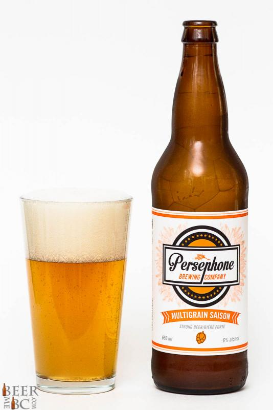 Persephone Brewing Multigrain Saison Review