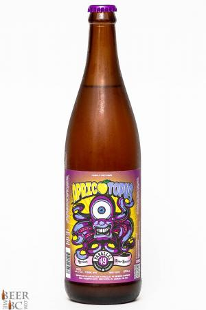 Parallel 49 Brewing Co. - Apricotopus Apricot Wheat Ale Review