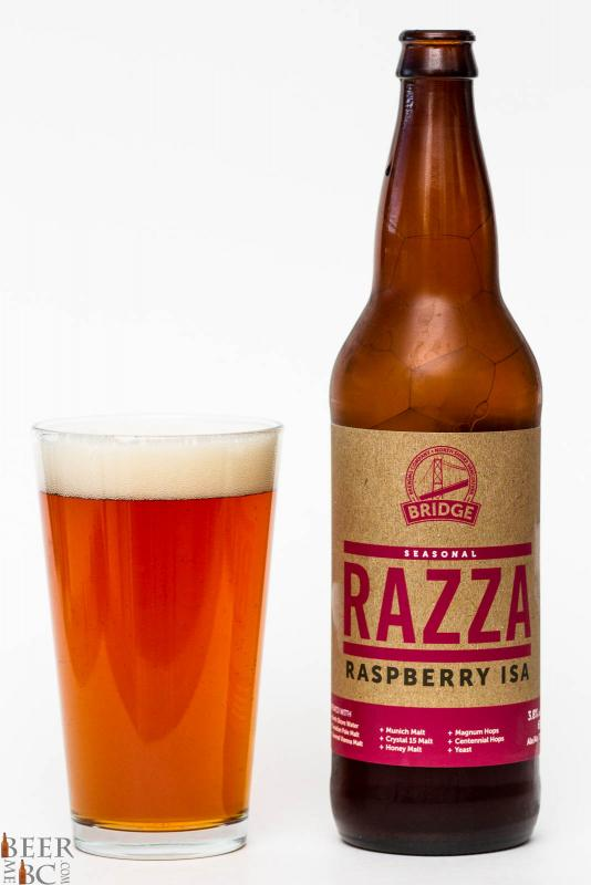 Bridge Brewing Razza Raspberry ISA ReviewBridge Brewing Razza Raspberry ISA Review
