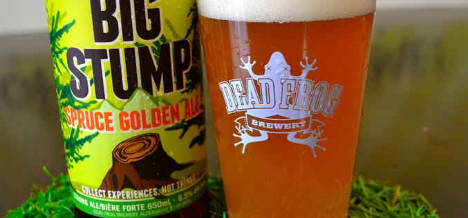 Dead Frog Brewery Resurrects the Big Stump Spruce Golden Ale in 2015