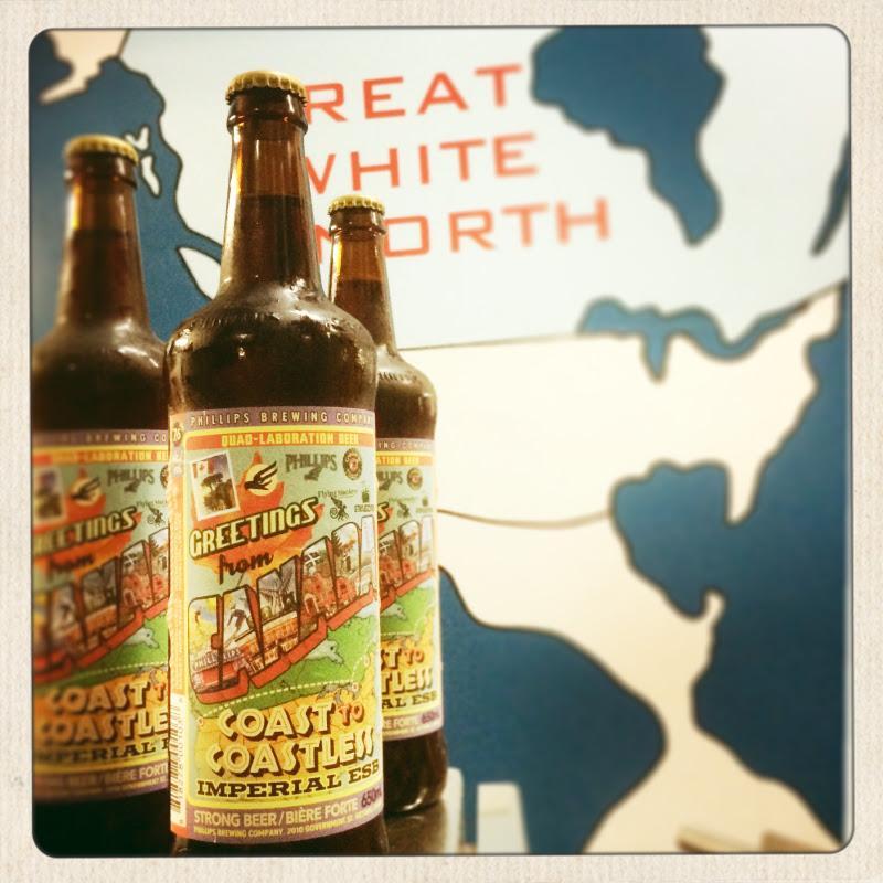Phillips Coast To Coastless Collaboration Beer