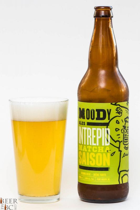 Moody Ales Intrepid Matcha Saison Review