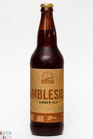 Bridge Brewing Ambleside Amber Ale Review