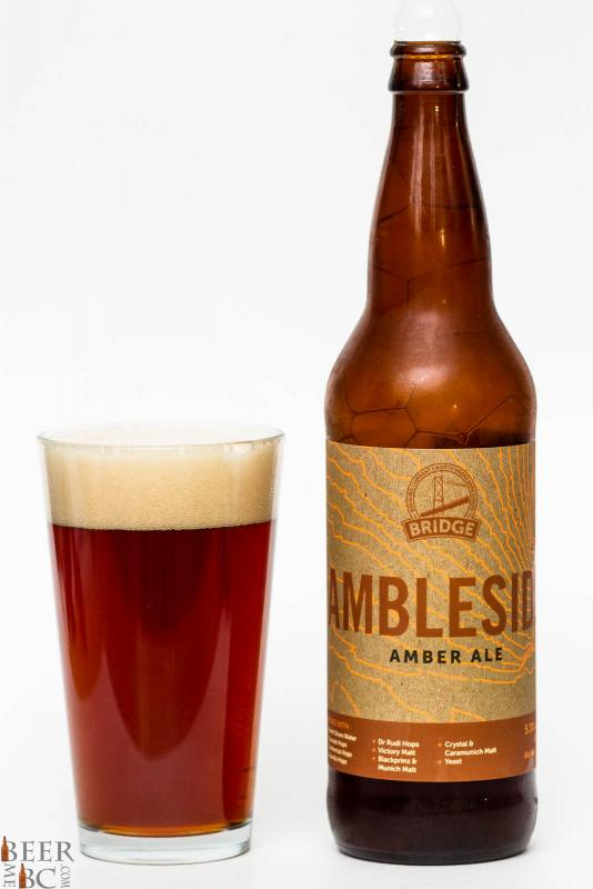 Bridge Brewing Ambleside Amber Ale Review