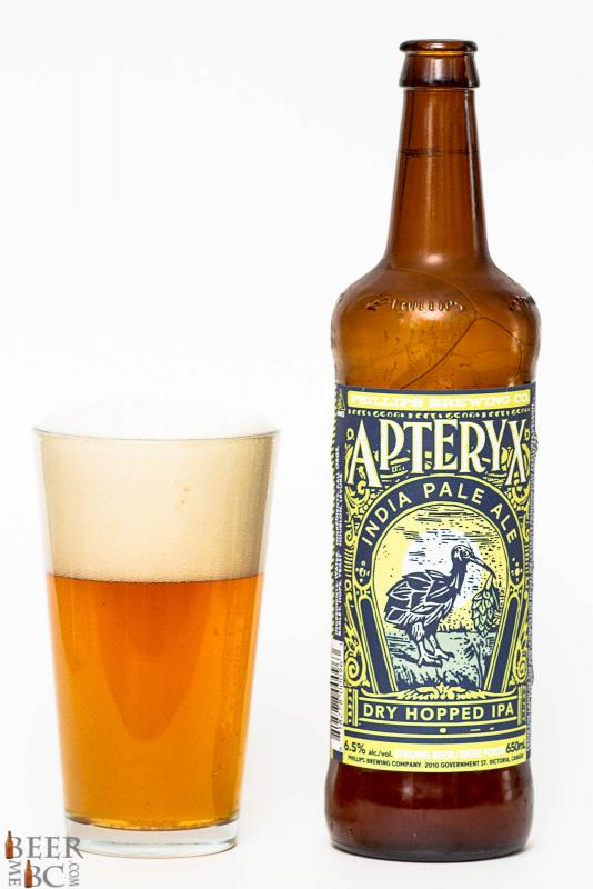 Phillips Brewing Apteryx IPA Review