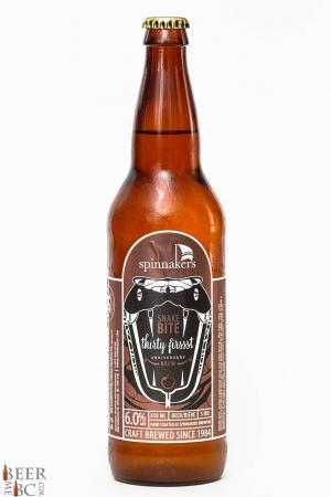Spinnakers Brewery Snake Bite ReviewSpinnakers Brewery Snake Bite Review