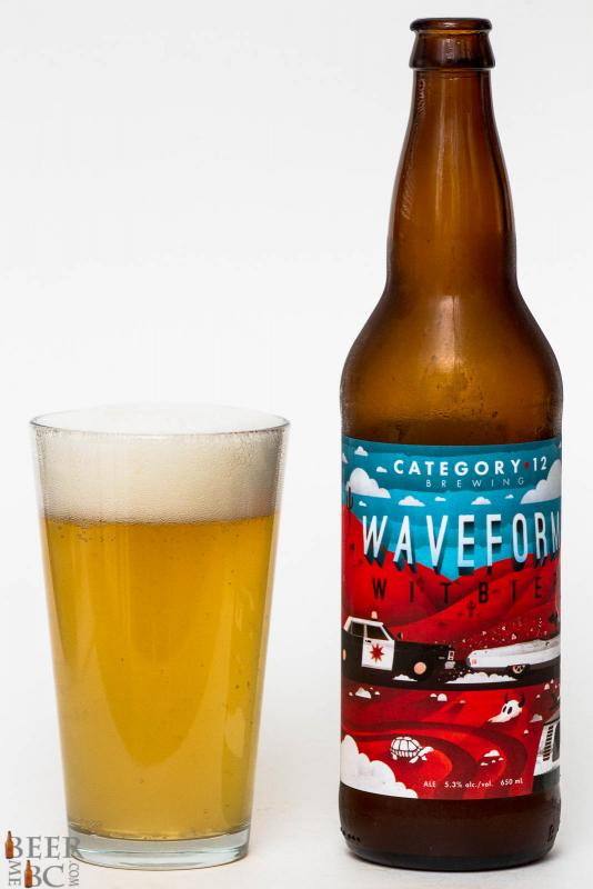Category 12 Brewing Waveform Witbier Review