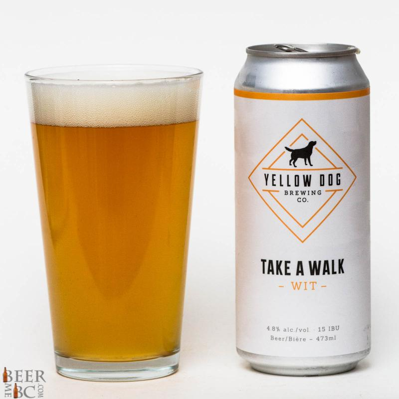 Yellow Dog Take A Walk Witbier Review