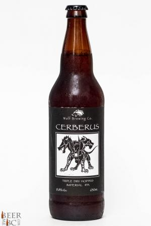 Wolf Brewing Co. - Cerberus Imperial IPA Review