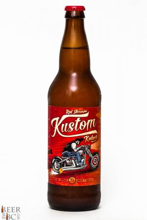 Red Arrow Brewing Kustom Kolsch Review