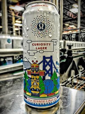 Stanley Park & Lululemon Curiosity Lager