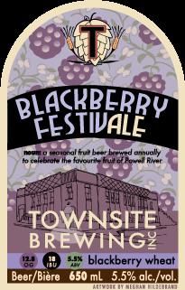 Townsite Blackberry FestivAle