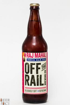 Off The Rail Brewing Raj Mahal India Ale Review