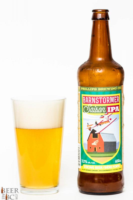 Phillips Brewery Barnstormer Saison IPA Review