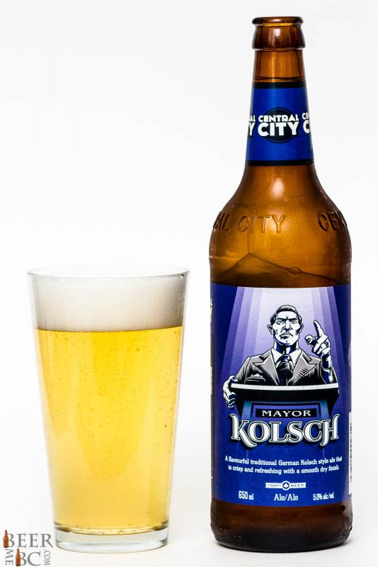 Central City Brewers Mayor Kolsch Review