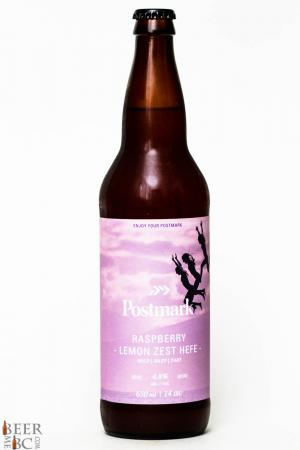 Postmark Brewing Co. - Raspberry Lemon Zest Hefe Review
