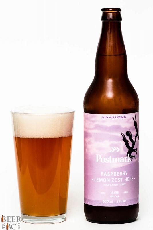 Postmark Brewing Co. - Raspberry Lemon Zest Hefe Review