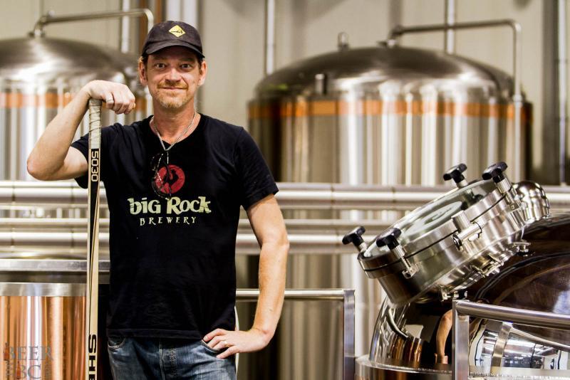 Big Rock Brewery Brewmaster Jody Hammell