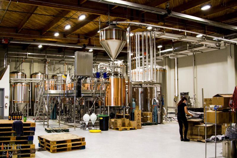 Big Rock Urban Brewery Space