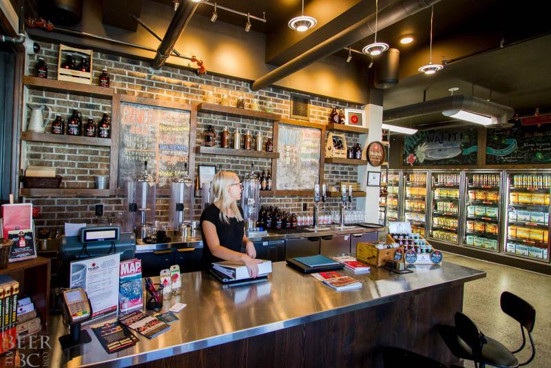 Big Rock Urban Brewery Tasting Room
