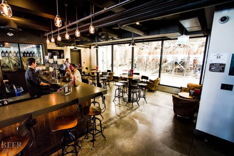 Big Rock Urban Brewery Lounge