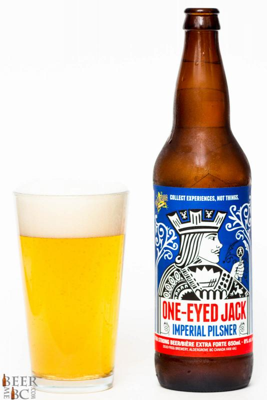 Dead Frog Brewery - One Eyed Jack Imperial Pilsner Review
