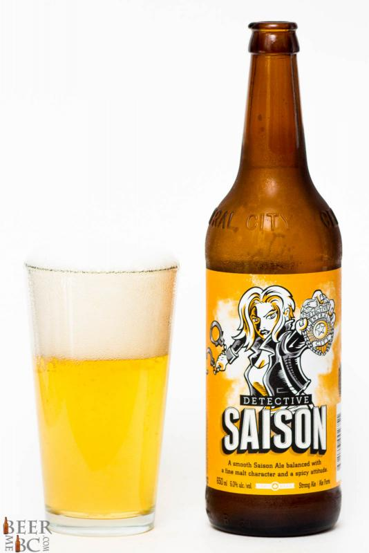Central City Brewers Detective Saison Review