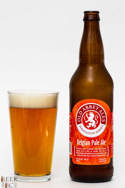 Old Abbey Ales Belgian Pale Ale Review