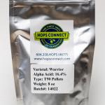 Craft Beer Hop Profile - Warrior Hops
