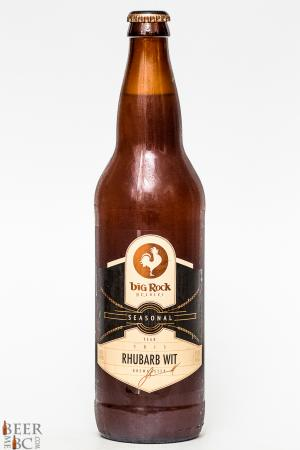 Big Rock Urban Brewery Rhubarb Wit Review