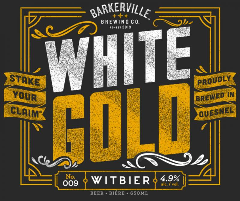 Barkerville White Gold Witbier
