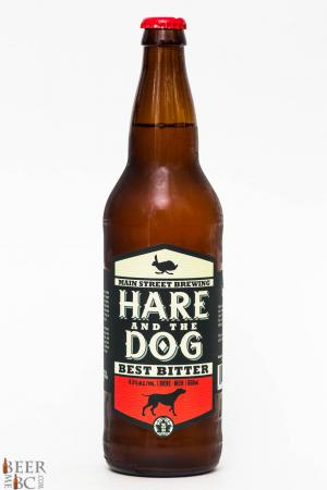 Main Street Brewing Hare And The Dog Best Bitter Review