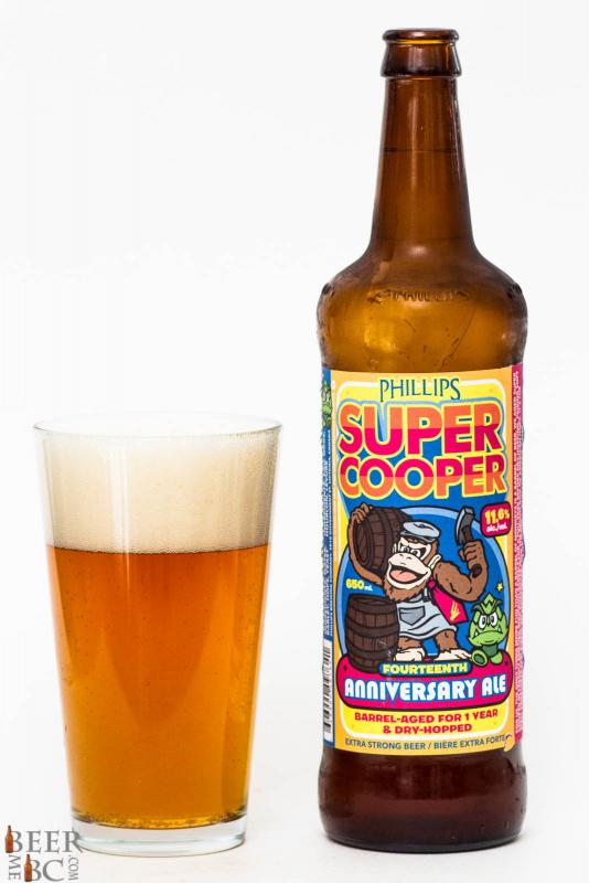 Phillips Brewing Co. - Super Cooper 14th Anniversary Ale Review