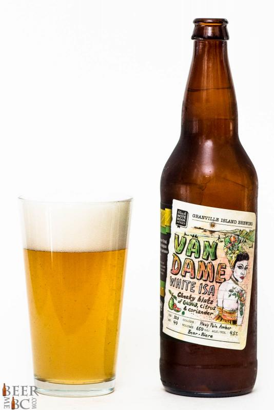 Granville Island Brewing Van Dame White ISA Review