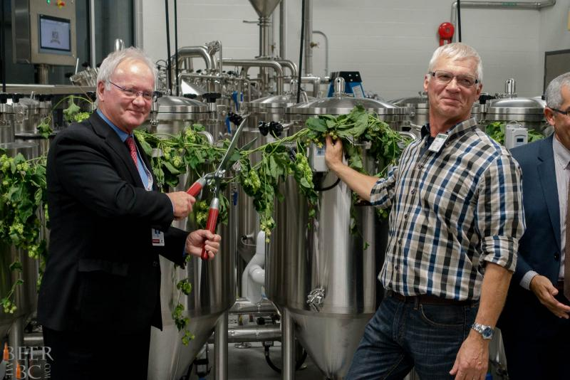 KPU Brewing Operations Ribbon Cutting