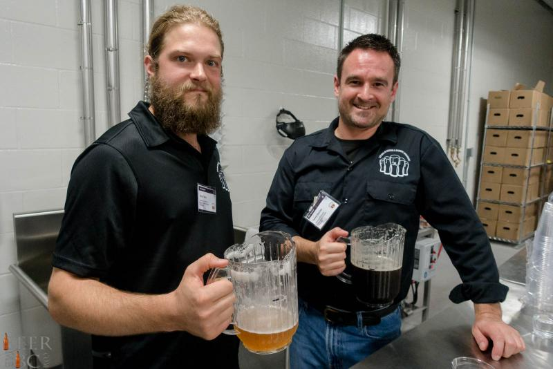 KPU Brewing Operations Students