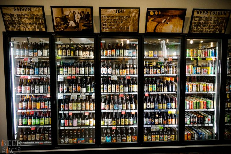 High Point Liquor Store Craft Beer Selection