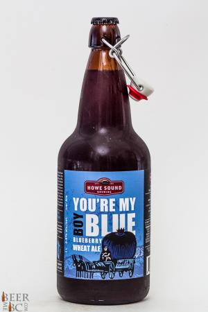 Howe Sound Brewery You're My Boy Blue Blueberry Wheat Ale Review