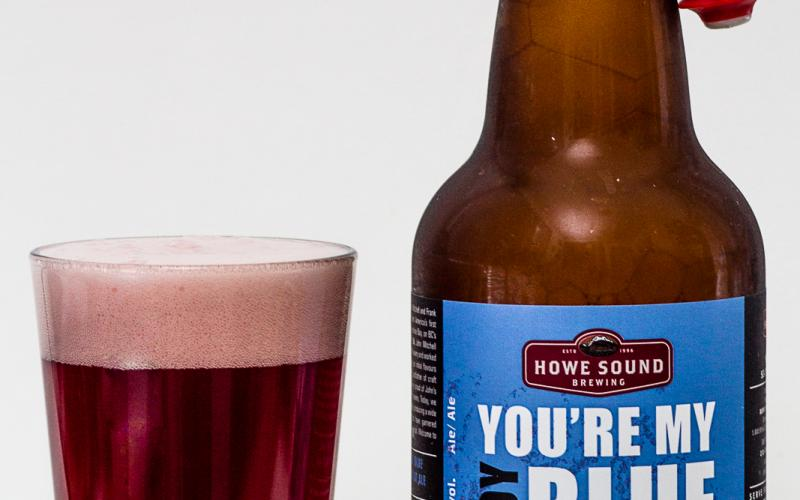 Howe Sound Brewing Co. – You're My Boy Blue Blueberry Wheat Ale
